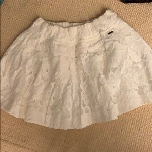 Gorgeous hollister lace skirt